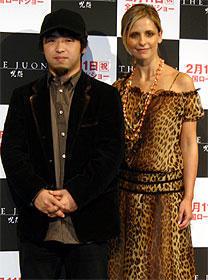 「THE JUON/呪怨」の主演女優、「和食を食べ過ぎて太ったわ」