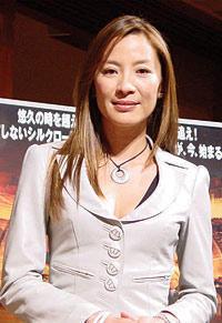 「SAYURI」の芸者役が、三蔵法師の映画を引っ提げ来日