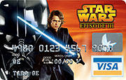 「スター・ウォーズ」公式クレジットカードに新たな絵柄が登場