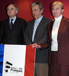 第13回フランス映画祭横浜2005で巨匠が来日