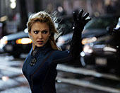 「ファンタスティック・フォー」の ジェシカ・アルバ「ファンタスティック・フォー 超能力ユニット」