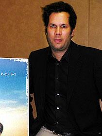 ドイツ映画祭での上映に際して来日した アヒム・フォン・ボリエス監督