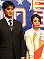 少々お疲れモード。織田裕二&柴咲コウ主演「県庁の星」
