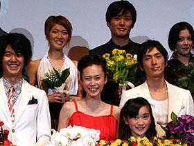 「嫌われ松子の一生」完成。劇団ひとり、中谷美紀とのキスの味は?