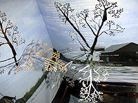 「DOGORA」にアイデアを得た照屋勇賢の作品