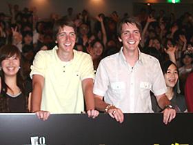 ダニエルとは大の仲良し オリバー(左)&ジェームズ(右)のフェルプス兄弟「ハリー・ポッターと不死鳥の騎士団」