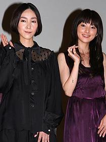 「夕凪の街 桜の国」 (左から)麻生久美子、田中麗奈「夕凪の街 桜の国」