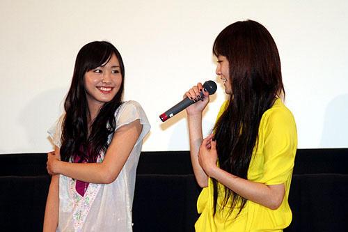 「恋するマドリ」 8月2日 完成披露試写会舞台挨拶