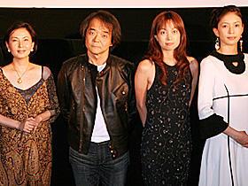 押井守監督、映画祭に選ばれ「ざまあ見ろ」。「真・女立喰師列伝」舞台挨拶