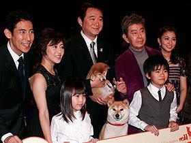 船越英一郎が名犬との別れに号泣!「マリと子犬の物語」初日