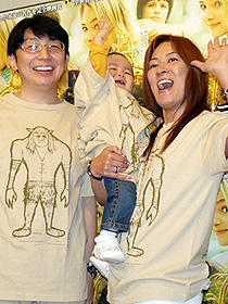 ジャガー横田夫妻がどつき漫才。「テラビシアにかける橋」イベント試写会