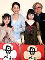 ベルリン映画祭出発前の吉永小百合が、「母べえ」大ヒット御礼
