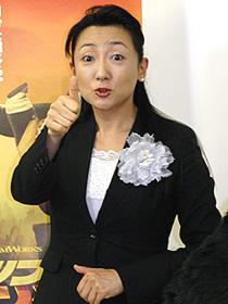 エド・はるみ、パンダの秘書に!「カンフー・パンダ」をウォッチング~!