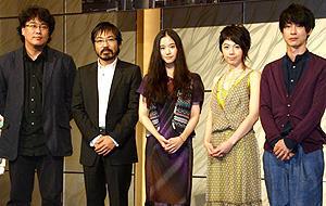 香川照之が引きこもり役に加瀬亮を推薦。「TOKYO!」記者会見