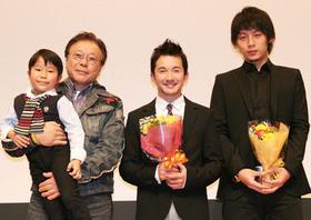浅利演じた龍二の子ども時代を演じた西須隼太も応援に「手のひらの幸せ」