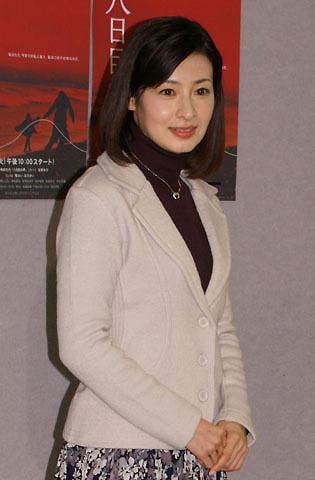連ドラ初主演の檀れい「緊張してきました」 角田光代原作「八日目の蝉」会見