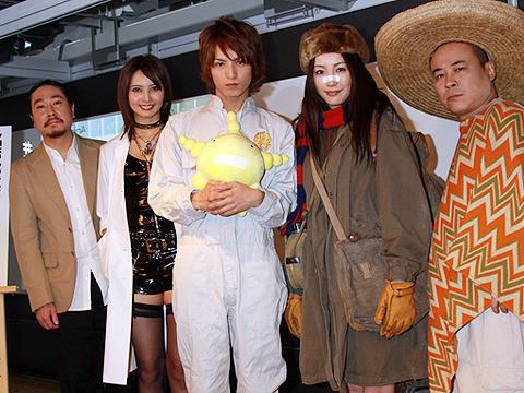 加藤夏希がボンテージでドSに… 実写「もやしもん」ほかノイタミナ新作発表
