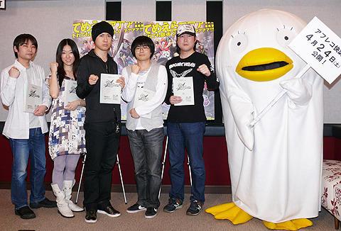 劇場版「銀魂」アフレコ現場公開で杉田智和ら声優陣が抱負語る