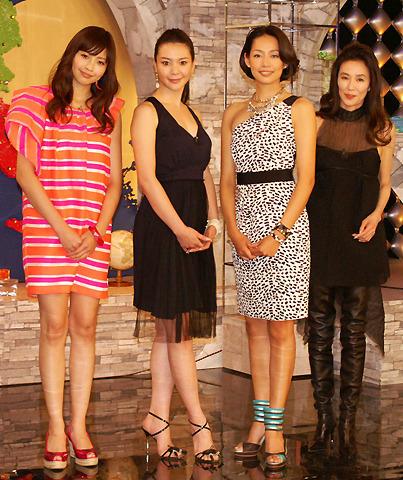 片瀬那奈ら美女4人、半年後のカレは外人!?NHK語学番組「EURO24」発表