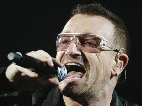 U2が、昨年もっとも稼いだミュージシャンに!