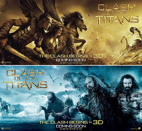 3Dアクション大作「タイタンの戦い」人間VS神のビジュアル解禁
