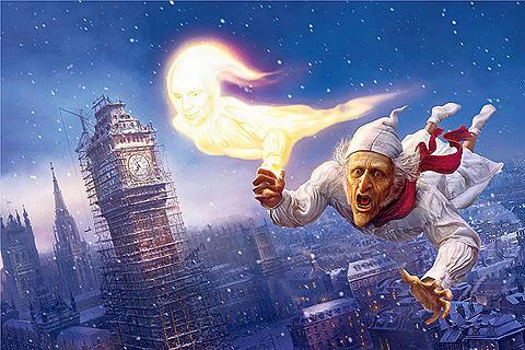米ディズニー「クリスマス・キャロル」のアニメスタジオを閉鎖