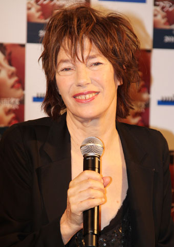 ジェーン・バーキン団長「桜を見に戻ってくる」 フランス映画祭2010開幕!