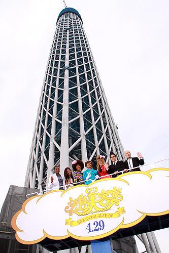 東京スカイツリーで初のイベント 「矢島美容室」も世界一を目指す
