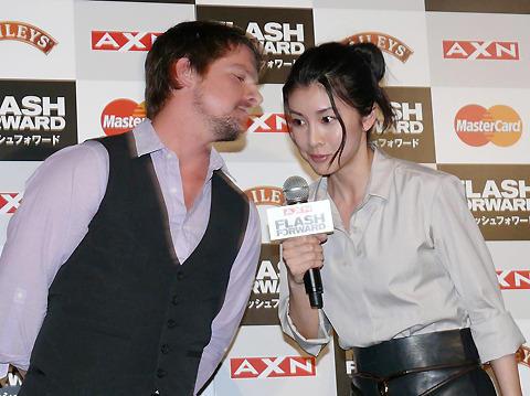 海外ドラマ初出演・竹内結子、英語セリフで「ブドウ糖使っている」