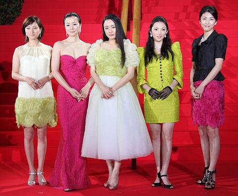 「TSUBAKI」女優5人、絢爛豪華に初顔合わせ