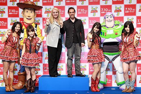 トトロも登場する「トイ・ストーリー3」にAKB48も大興奮