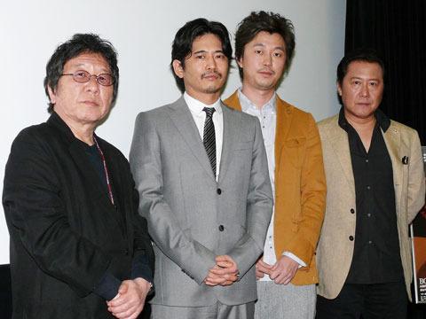 新井浩文、池脇千鶴との破局を初日挨拶で告白