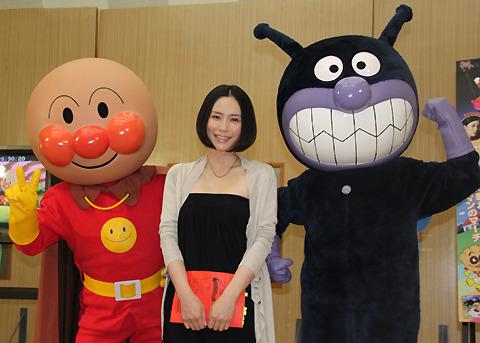 中谷美紀「アンパンマン」デビューに子持ち友人も大喜び