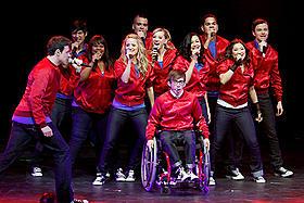 大躍進中の人気ドラマ「Glee」