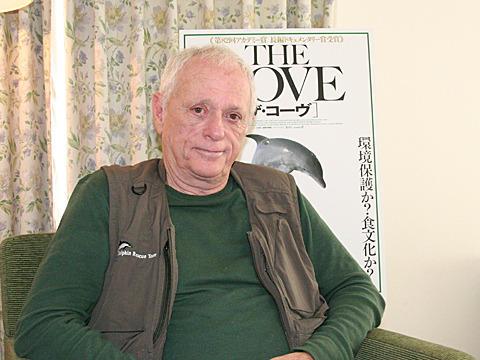 「ザ・コーヴ」の中心人物、「日本国民はこの映画を見る権利がある」と訴える