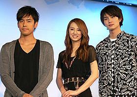 映画にぴったりの主題歌に北川&岡田も感動「瞬 またたき」