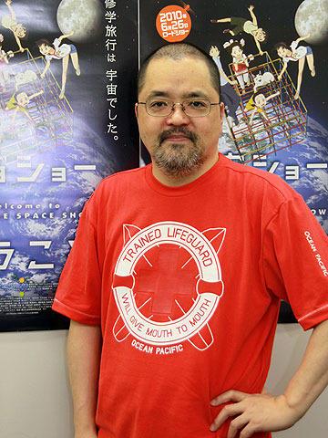 観客へ手を広げてウェルカム!「宇宙ショーへようこそ」舛成孝二監督