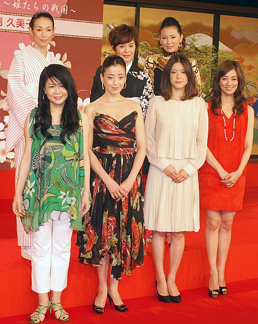 女優復帰の鈴木保奈美も上野樹里にエール NHK大河「江」新キャスト発表