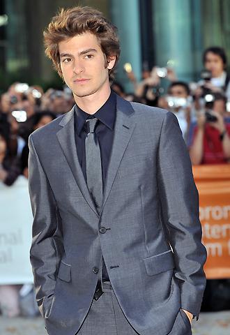 新「スパイダーマン」決定!26歳の英俳優アンドリュー・ガーフィールド