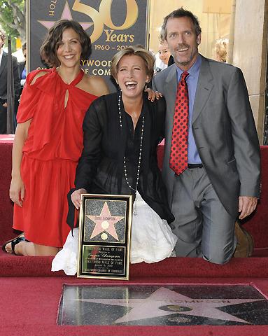 ハリウッド殿堂入りのエマ・トンプソン、「軽いうつ状態」を告白
