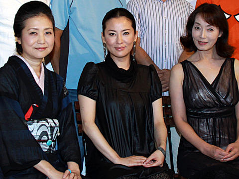 内田春菊監督作、主演の鈴木砂羽が「エッチでかわいい」と自信