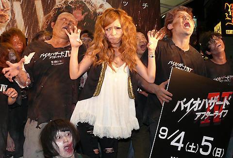 「バイオハザードIV」世界最速公開が決定!渋谷のカリスマ小森純も大興奮