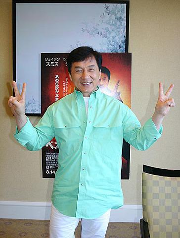 ジャッキー・チェン「これからの目標はアジアのデ・ニーロ」