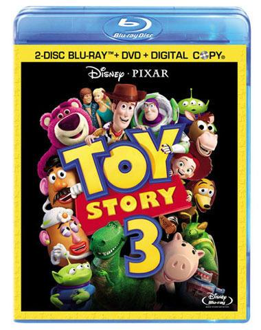大ヒットアニメ「トイ・ストーリー3」ブルーレイ&DVDが発売決定