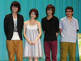 イケメン俳優・佐藤が初主演する青春ラブストーリー「君へのメロディー」