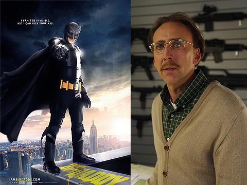 アメコミ好きのニコラス・ケイジ、新作映画でバットマンに!?