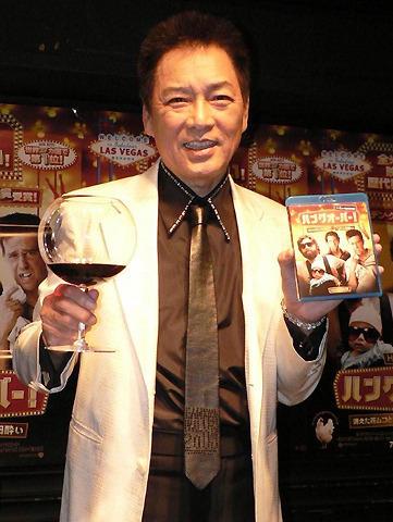 錦野旦、ワイン片手に勝新太郎との失敗談を告白