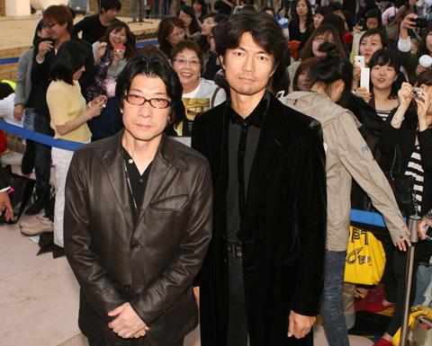 仲村トオル、韓国でチャン・ドンゴンとの再会を報告