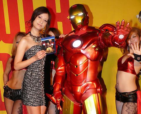 マリエ、アイアンマンに「守ってほしい」