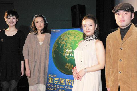 「FIT」出演の3女優、東京国際映画祭での上映に「夢のよう」